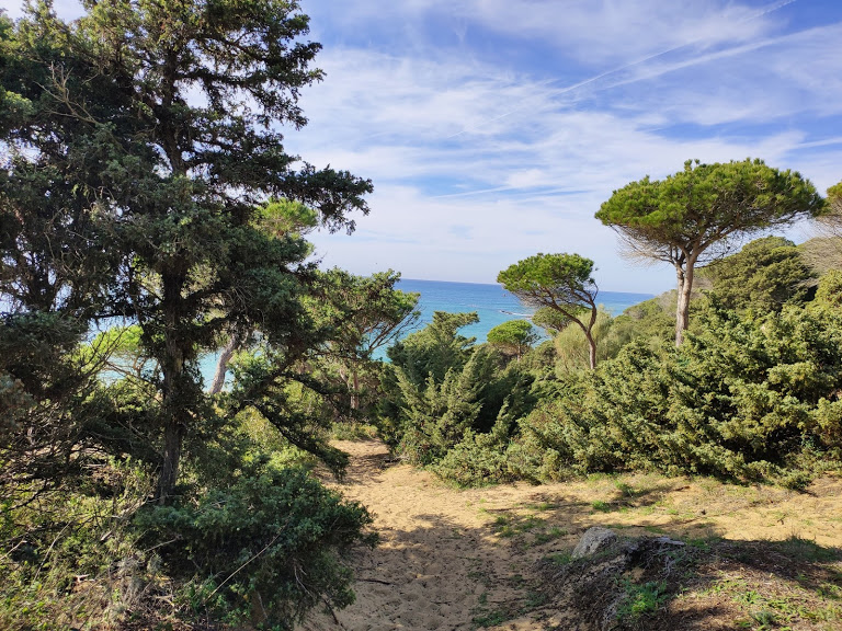 hiking from Tarifa to Bolonia